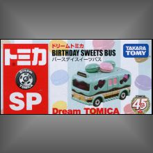 Dream Tomica 45th BirthDay Sweets Bus,Dream Tomica 45th BirthDay Sweets Bus